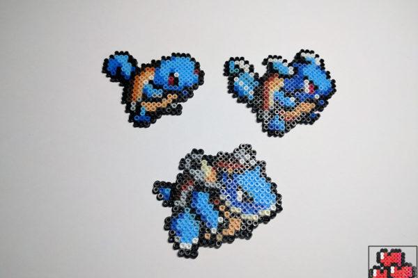 pokemon-pixel-art-squirtle-wartortle-blastoise