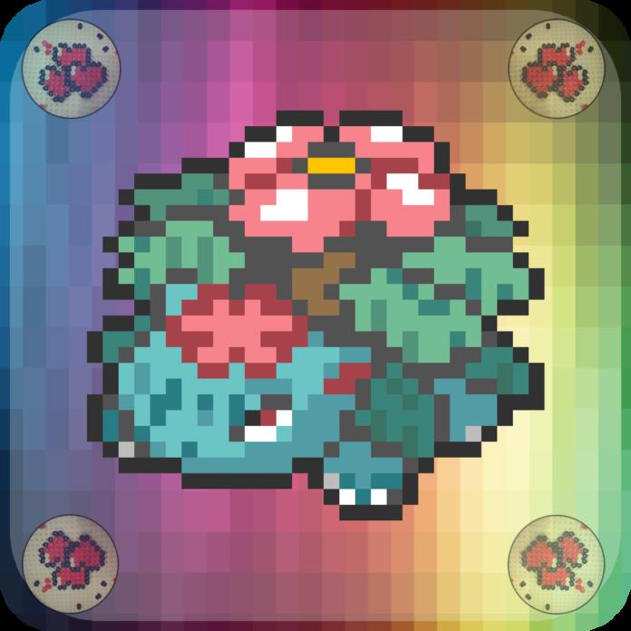 pixel-pixelart-pixelcraft-pixelbeads-perlers-perlerbeads-perlerart-beads-beadspearls-hama-hamabeads-hamasprites-hamacrafts-hamaperler-artkal-artkalbeads-fusebeads-8bit-retrogaming-gaming-perlercrafts-homemade-handmade-sprite-design-tutoriel-pattern-pokemon-fusion-pokemon-mega-florizarre-venusaur